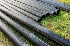 Tubos del PVC Fotografía de archivo libre de regalías