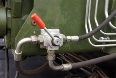 Tubos e encaixes hidráulicos Imagem de Stock Royalty Free