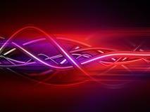 Tubos e fundo saturados dos fios Imagens de Stock Royalty Free