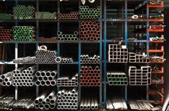 Tubos empilados para arriba Fotos de archivo
