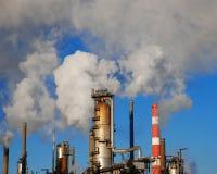 Tubos industriales Foto de archivo libre de regalías