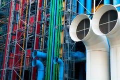 Tubos industriales Fotos de archivo
