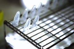 Tubos moleculares que contienen la DNA Imágenes de archivo libres de regalías