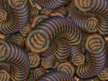 Tubos oxidados Imagenes de archivo