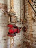 Tubos oxidados Imagen de archivo libre de regalías