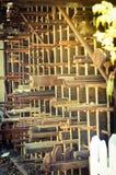Tubos oxidados Fotografía de archivo libre de regalías