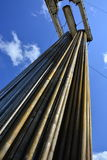 Tubos para los pozos del petróleo y gas de la perforación Imagen de archivo