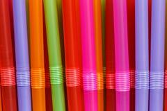 Tubos plásticos Fotos de archivo