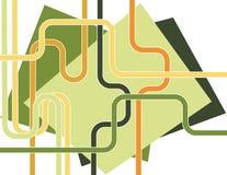 Tubos y planos Stock de ilustración
