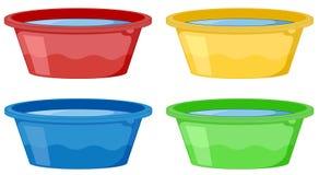 Tubs stock illustration
