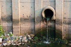Tubulação da drenagem Foto de Stock Royalty Free