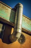 Tubulação da ventilação Fotos de Stock