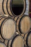 Tubulação das madeiras do vinho Fotos de Stock