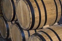 Tubulação das madeiras do vinho Imagens de Stock Royalty Free