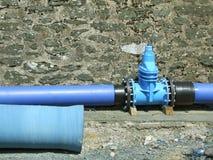 Tubulação de água Imagens de Stock Royalty Free