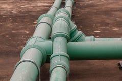 Tubulação de água Foto de Stock Royalty Free
