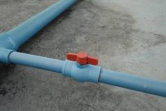 Tubulação de água Foto de Stock