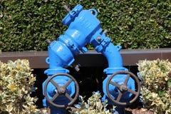 Tubulação de água comercial Imagem de Stock Royalty Free