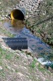 Tubulação de águas residuais Fotografia de Stock