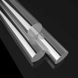Tubulação de aço Imagem de Stock Royalty Free