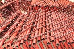 Tubulação de aço de solda Imagem de Stock Royalty Free