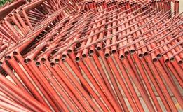 Tubulação de aço de solda Fotos de Stock