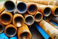 Tubulação de broca Fotos de Stock