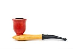Tubulação de cigarro Fotografia de Stock Royalty Free