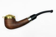 Tubulação de cigarro de Brown Imagens de Stock