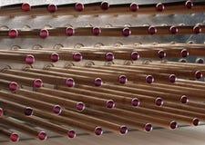 Tubulação de cobre Imagens de Stock