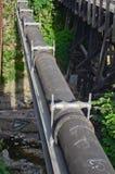Tubulação de dreno fotografia de stock