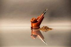 Tubulação de fumo Imagens de Stock