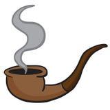 Tubulação de fumo ilustração do vetor