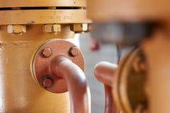 Tubulação de gás Imagem de Stock