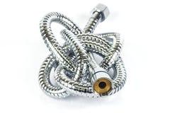 Tubulação de mangueira do metal Imagens de Stock Royalty Free
