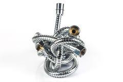 Tubulação de mangueira do metal Imagem de Stock