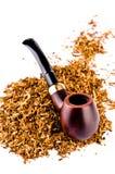 Tubulação de tabaco imagens de stock royalty free