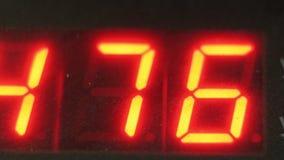 Tubulação digital eletrônica do contador do medidor do seletor Fabricação de fábrica plástica das tubulações de água Processo de  imagens de stock royalty free