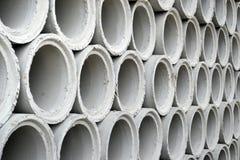Tubulação do cimento Foto de Stock