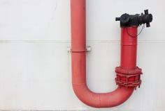 Tubulação do fogo Imagens de Stock