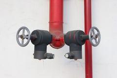 Tubulação do fogo Foto de Stock Royalty Free