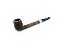 Tubulação do fumo isolada Fotografia de Stock