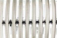 Tubulação do metal da corrugação do permutador de calor Fotos de Stock