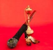 Tubulação e cachimbo de água de Tabacco Imagem de Stock