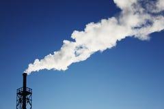 Tubulação e fumo Imagem de Stock