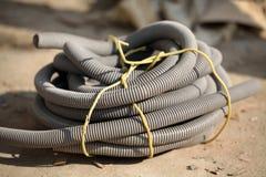 Tubulação flexível fotografia de stock royalty free