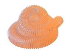 Tubulação flexível, tubulação ondulada do poliuretano Imagem de Stock Royalty Free