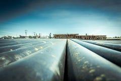 Tubulação industrial Fotografia de Stock Royalty Free