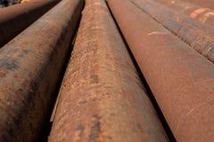 Tubulação industrial Imagem de Stock