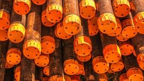Tubulação industrial Fotos de Stock Royalty Free